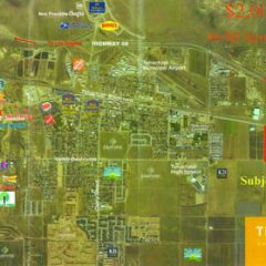 M-1 Land – 46.80 Acres – Industrial / Commercial Use