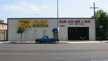Auto Body Repair Facility – Multi Family Development Site